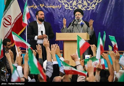 Presidential Candidate Raisi Visits Varamin on Election Trail