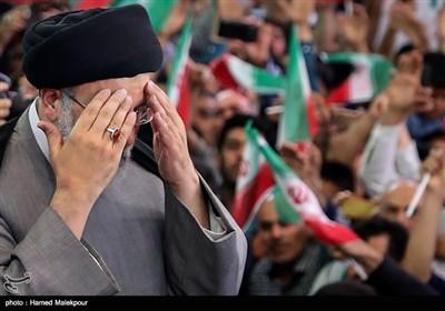 استقبال مردم ورامین از حجتالاسلام سید ابراهیم رئیسی