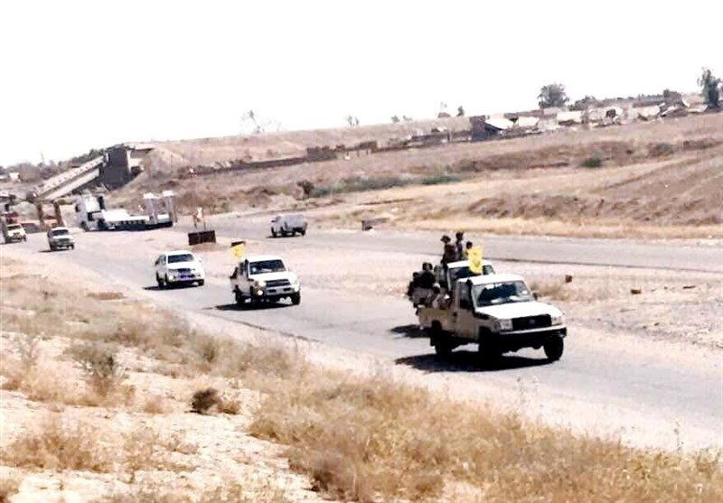 عراق اور شام کے سرحدی علاقوں کی آزادی کیلئے نجباء فورس کے خصوصی دستے روانہ