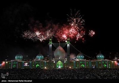 شب برات کے موقع پر مسجد جمکران کی روح پرور فضا