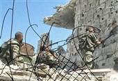 شاهراه حیاتی تکفیریها در حومه دمشق قطع شد / آزادسازی قریب الوقوع محله استراتژیک «القابون»+تصاویر