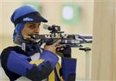 شکستن رکورد قهرمان جهان توسط الهه احمدی