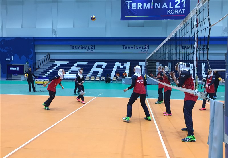 Iran Loses to Vietnam at Asian Women's U-23 Volleyball Championship