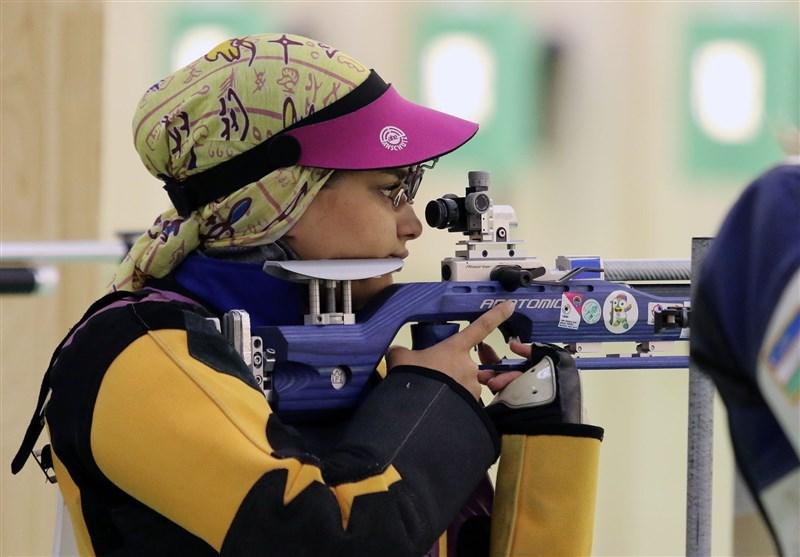 Islamic Solidarity Games: Iran's Mixed Team 10m Air Rifle Bags Silver