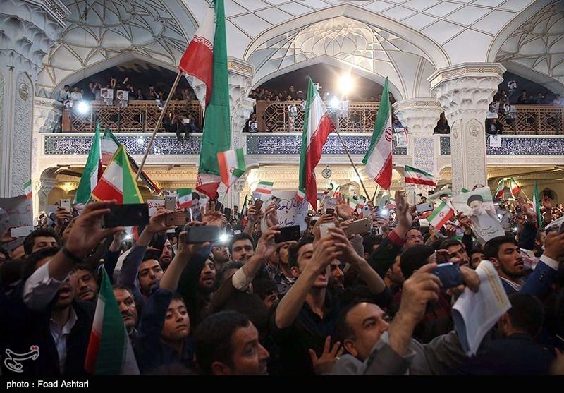 شعار اردبیلیها: «شعار هر ایرانی، خداحافظ روحانی» + فیلم