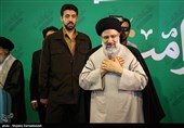 حجتالاسلام رئیسی با آیتالله نورمفیدی دیدار کرد