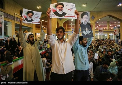 Raisi Visits Oroumiyeh on Campaign Trail