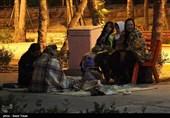 زندگی شبانه مردم بجنورد پس از زلزله
