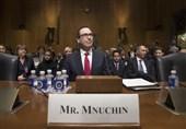 استیو منوچین وزیر خزانه داری آمریکا