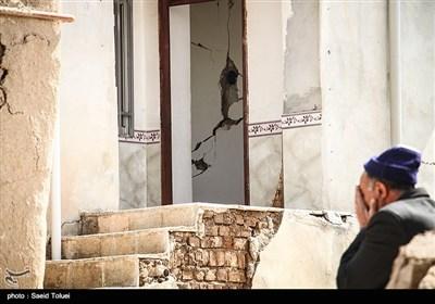 خسارات به جا مانده از زلزله خراسان شمالی