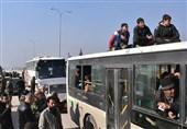 مسلحو القابون شرق دمشق إلى إدلب الیوم
