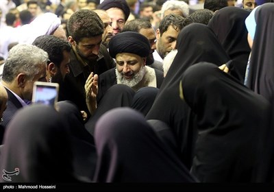 Presidential Candidate Raisi Travels to Gilan on Election Trail