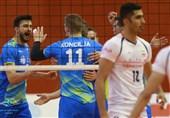 تیم ملی والیبال در دیداری دوستانه و نزدیک مغلوب اسلوونی شد