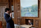 کنفرانس خبری نخستوزیر کانادا و فرزند 3 سالهاش + تصاویر