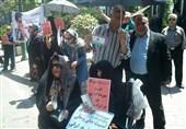 تجمع سپردهگذاران موسسه مجاز کاسپین در بیش از 6 شهر + عکس