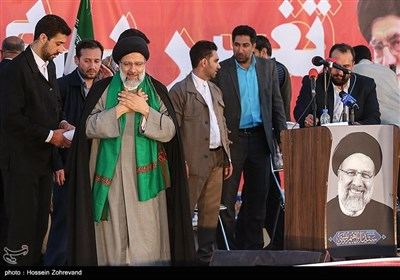Presidential Candidate Raisi Continues Electioneering in Isfahan