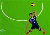 تیم ملی والیبال ایران در دیدار دوستانه از سد اسلوونی گذشت