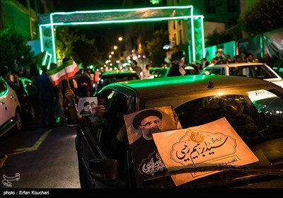 Presidential Election Campaign in Streets of Tehran
