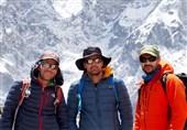 معانی پس از صعود به قله لوتسه: با وجود باد شدید قله را فتح کردیم