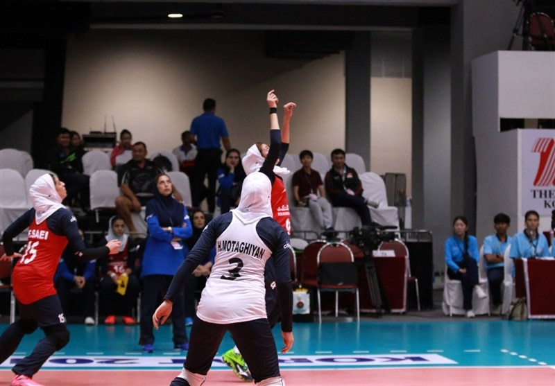 Iran Loses to Chinese Taipei at Asian Women's U-23 Volleyball