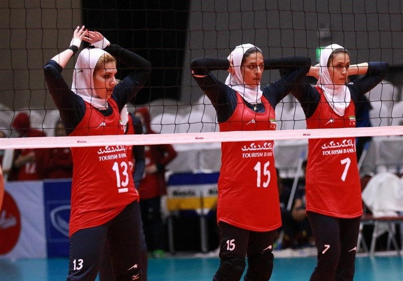 Asian Women's U-23 Volleyball Championship: Iran Loses to Hong Kong