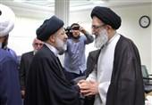 حجتالاسلام رئیسی با نماینده ولیفقیه در استان البرز دیدار کرد+ تصاویر