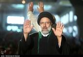 اجتماع حامیان رئیسی در مصلی تهران-2