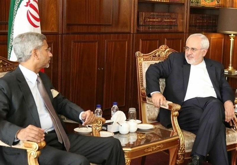 ظریف کی بھارتی سیکرٹری خارجہ سے ملاقات