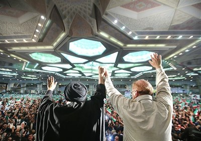 خیزش 300هزارنفری تهرانیها در حمایت از سید ابراهیم رئیسی