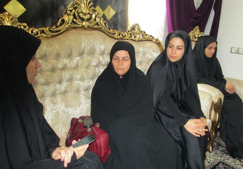 همسر شهید شمسه
