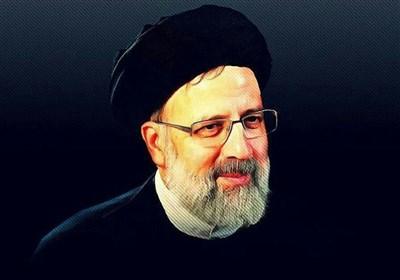 حامیان روحانی در اجتماع بزرگ رئیسی در تهران
