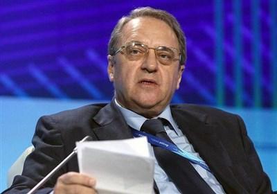 مذاکرات بوگدانوف و مشاور بشار اسد در مسکو