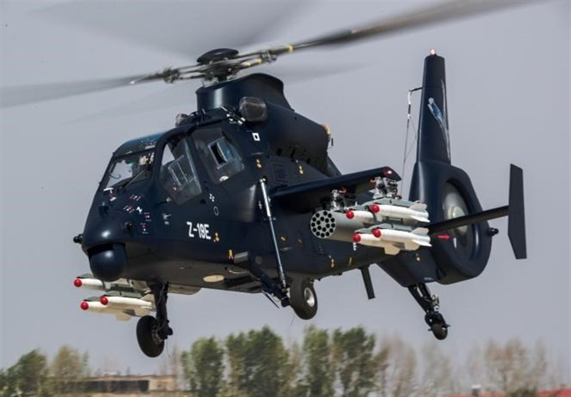 China Unveils New Attack Helicopter