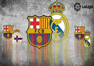رئال مادرید بارسلونا لالیگا