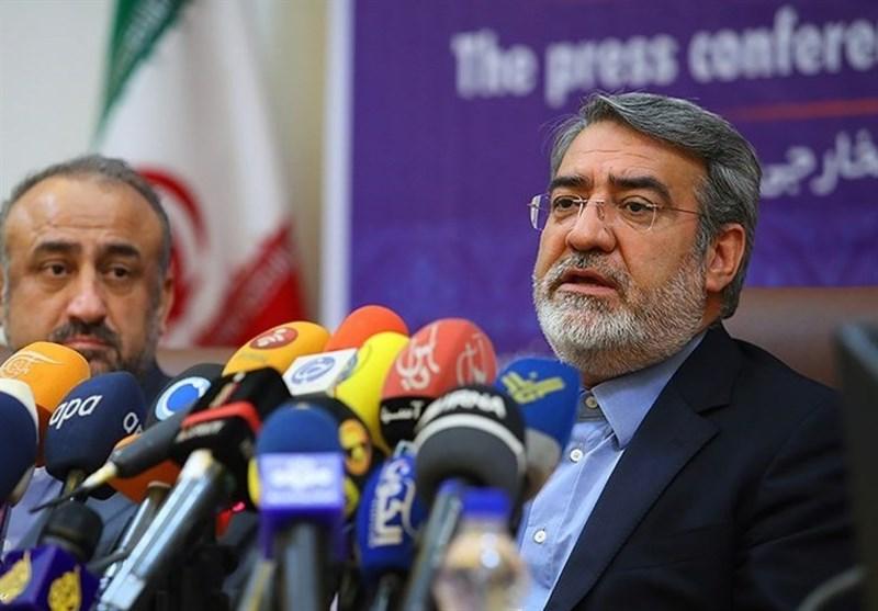 وزیر الداخلیة: عقد اجتماع طارىء للمجلس الامنی فی طهران