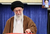 Ayatollah Khamenei Votes in Presidential Election, Urges Presence with Awareness