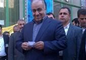 استاندار لرستان رای خود را به صندوق انداخت