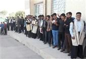 إقبال کثیف على صنادیق الاقتراع للانتخابات الرئاسیة الایرانیة