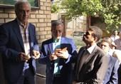 هاشمیطباء رای خود را به صندوق انداخت + عکس