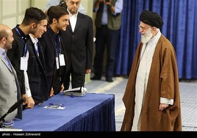 Ayatollah Khamenei Casts Vote in Iran's Elections