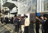 بالصور..حضور جماهیری کبیر فی مراکز الاقتراع