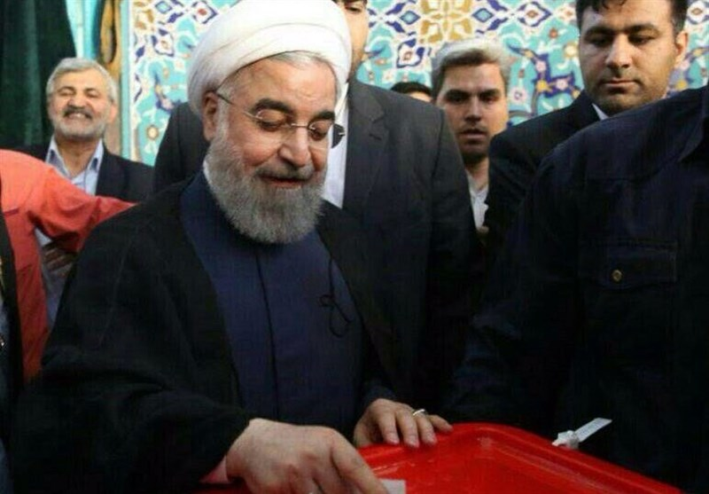 President Rouhani Says Iranian Nation Winner of Polls