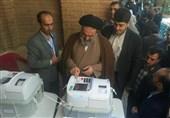 نماینده ولی فقیه در استان کردستانرأی خود را در صندوق رای انداخت