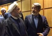 واکنش وزیر کشور به حضور روحانی در ستاد انتخابات + فیلم