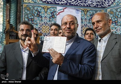 انتخابات ریاست جمهوری و شورای شهر و روستا - حسینه ارشاد تهران
