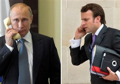 ماکرون دعوت پوتین برای سفر به روسیه را پذیرفت