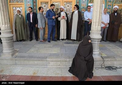 People in Iran's Qom Cast Vote to Pick Next President