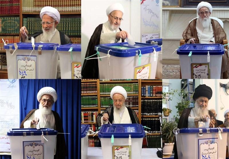 حضور مراجع در انتخابات