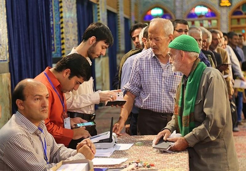 حضور پرشور مردم یزد در انتخابات