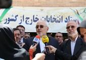 بازدید ظریف از ستاد انتخابات خارج از کشور